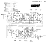 Cirquit Diagram Hitachi TM-735E