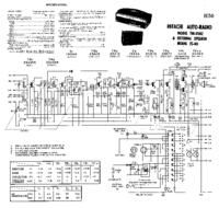 Cirquit diagramu Hitachi ES-60