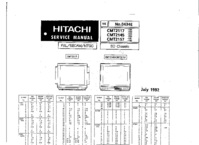 Cirquit Diagramma Hitachi CMT2157
