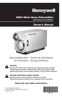 Manual del usuario Honeywell DH90