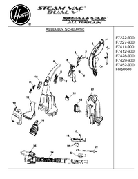 Service Manual Hoover F7222-900