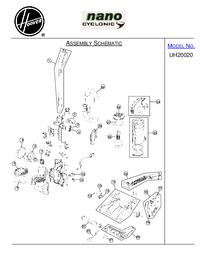 Руководство по техническому обслуживанию Hoover UH20020
