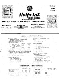 Serwis i User Manual Hotpoint J35DM