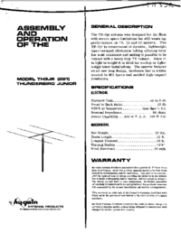 Hygain-6955-Manual-Page-1-Picture