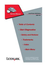 Manuale di servizio IBM 4039-16L
