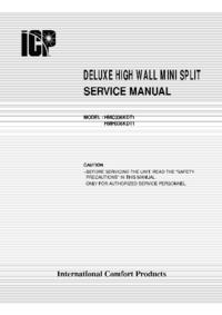 Manuale di servizio ICP HMC036KDT1