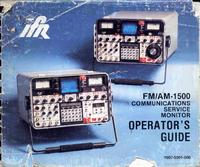 Manuale d'uso IFR FM/AM-1500