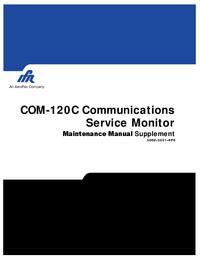 Instrukcja serwisowa IFR COM-120C