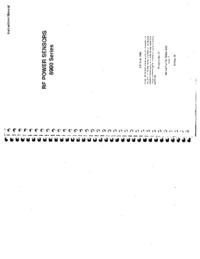 User Manual IFR 6900 Series