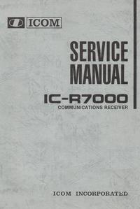 Service Manual Icom IC-R7000
