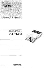 Manual del usuario Icom AT-120