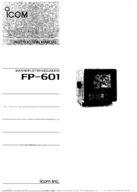 User Manual Icom FP-601