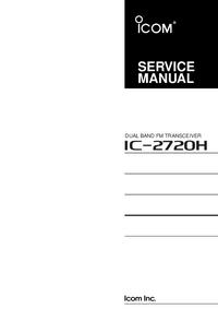 manuel de réparation Icom IC-2720H