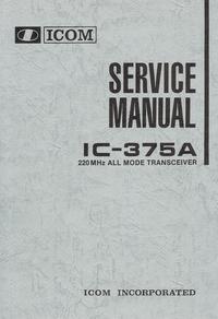 Serviceanleitung Icom IC-375A