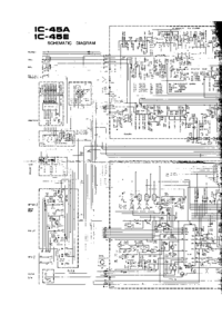 Cirquit Diagram Icom IC-45E