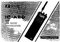 Bedienungsanleitung Icom IC-A20