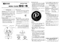 Instrukcja obsługi Icom GC-5