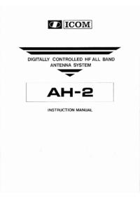 Bedienungsanleitung Icom AH-2