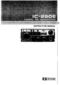 Manual do Usuário Icom IC-280E
