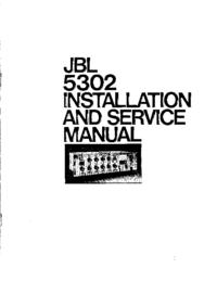 Instrukcja serwisowa JBL 5302