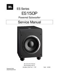 Serviceanleitung JBL ES150P