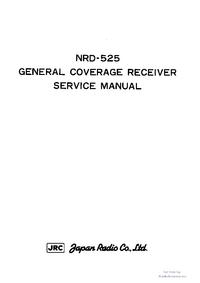 Manual de servicio JRC NRD-525