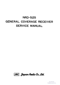 Instrukcja serwisowa JRC NRD-525