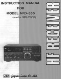 Bedienungsanleitung JRC NRD-535