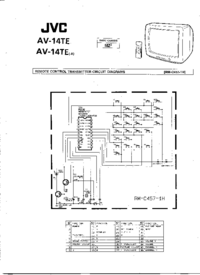 Cirquit Diagram JVC AV-14TE