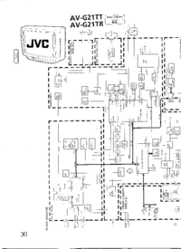 Cirquit Diagram JVC AV-G21TR