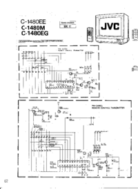 Cirquit Diagramma JVC C-1480M
