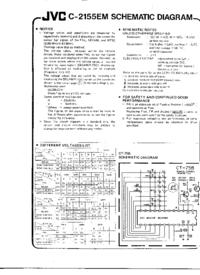 Schaltplan JVC C-2155EM