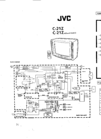 Cirquit Diagrama JVC C-21Z