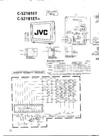 Schema JVC C-S2181ET