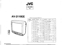 Cirquit diagramu JVC AV-2110E