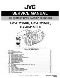 Service Manual JVC GY-HM150E