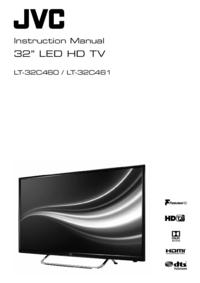 User Manual JVC LT-32C460