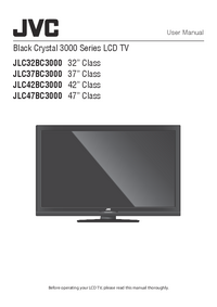 Manual do Usuário JVC JLC32BC3000