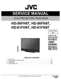 Manual de servicio JVC HD-56FH97
