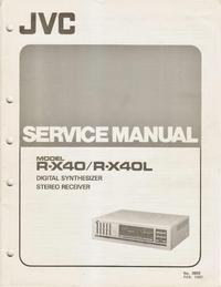 Serviceanleitung JVC R-X40