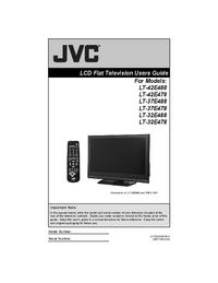 Manual del usuario JVC LT-42E478
