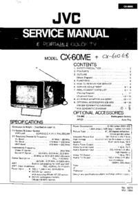 manuel de réparation JVC CX-60ME