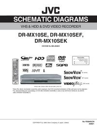 Cirquit Diagramma JVC DR-MX10SEK