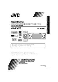 Руководство пользователя JVC KD-AVX2