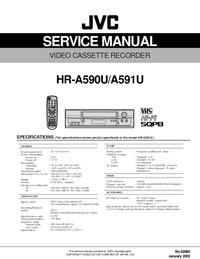 Service Manual JVC HR-A590U