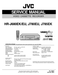 Service Manual JVC HR-J680EK