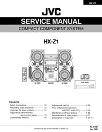 JVC-282-Manual-Page-1-Picture