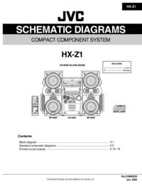 Instrukcja serwisowa JVC HX-Z1