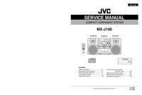 Instrukcja serwisowa JVC MX-J100