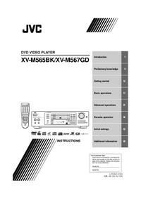 User Manual JVC XV-M567GD